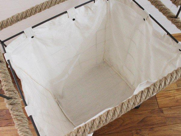 hemping laundry cart lowの画像