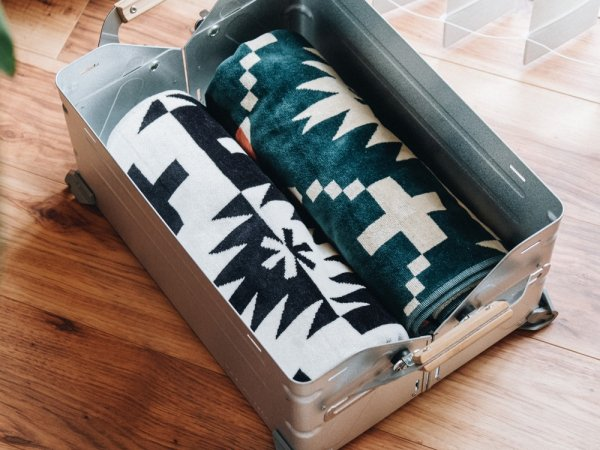 SP×PENDLETON TOWEL BLANKET Mid size WHの画像