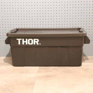 "Thor Large Totes With Lid ""53L / Black""の画像"