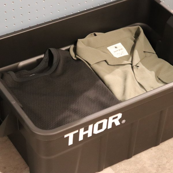 "Thor Large Totes With Lid ""53L / Gray""の画像"