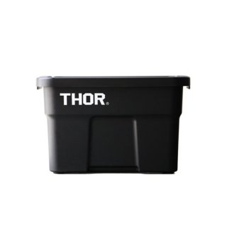 "Thor Large Totes With Lid ""22L / Black""の画像"