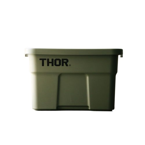"""Thor Large Totes With Lid """"22L / Olive drab""""の画像"""