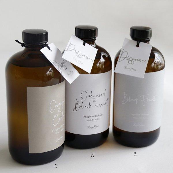 フレグランスディフューザー ピルボトル(L)  BLACK FOREST: Bの画像