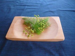 木のパン皿〜ヨーロッパピーチー〜