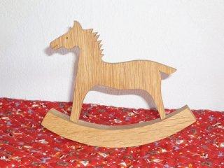 ミニチュア木馬 飾り馬 大