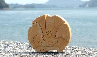 兜(かぶと)パズル〜みかんの木のクラフトシリーズ〜