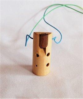 いろいろな木のオカリナ〜ホワイトメープル〜  ソプラニーノ管F管