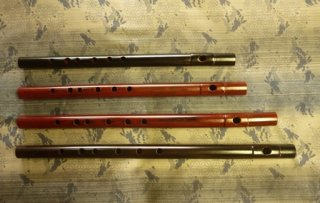 オリジナル横笛 Original Flute C管(八本調子) 女竹製