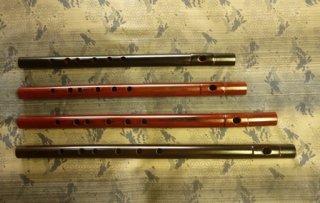 オリジナル横笛 Original Flute B管( 七本調子) 女竹製