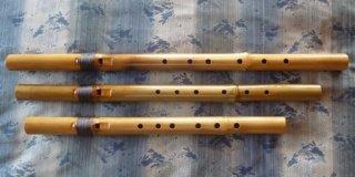 新虚空の笛 (7孔 音域拡張タイプ)   A♯管