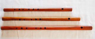 オリジナル横笛(木製) Original Wood Flute  F管
