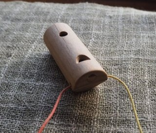 カッコウ笛 Cuckoo whistle 〜いろいろな木の鳥笛シリーズ〜