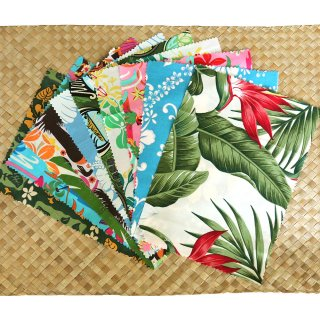 HAWAIIAN FABRIC ハギレ10P SET