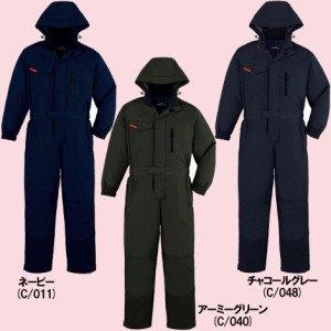 48500防寒ツナギ(フード付)