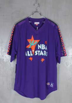 MITCHELL&NESS<br>ALL STAR MESH V NECK JERSEY<br>[新品]