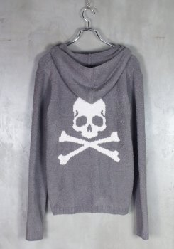 <img class='new_mark_img1' src='https://img.shop-pro.jp/img/new/icons20.gif' style='border:none;display:inline;margin:0px;padding:0px;width:auto;' />MASTERMIND BARE FOOT<br>KNIT HOODIE <br>【中古】