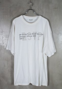 RSVP × OFF-WHITE<br>S/S T-SHIRTS<br>[中古B]