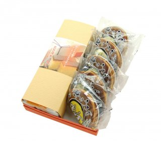 五三焼きカステラ+餅つきうさぎ5個【冷蔵配送】
