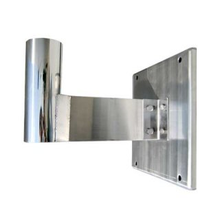 大型カーブミラー用 壁掛け金具 φ76.3mm