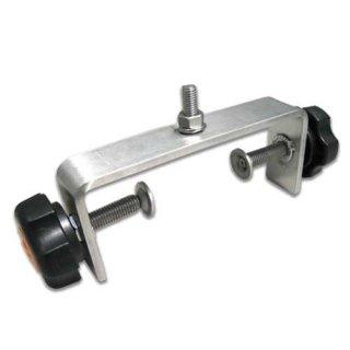 小型カーブミラー用 箱型トメ金具(両締め)SW120