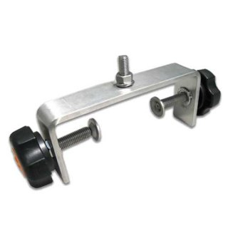 小型カーブミラー用 箱型トメ金具(両締め)SW170