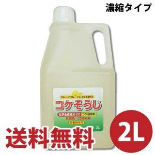 コケそうじ(苔駆除剤) 濃縮タイプ 2L