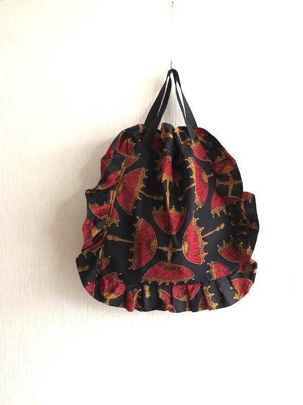 African like Frill Bag  / アフリカン フリルバック(umbrella)
