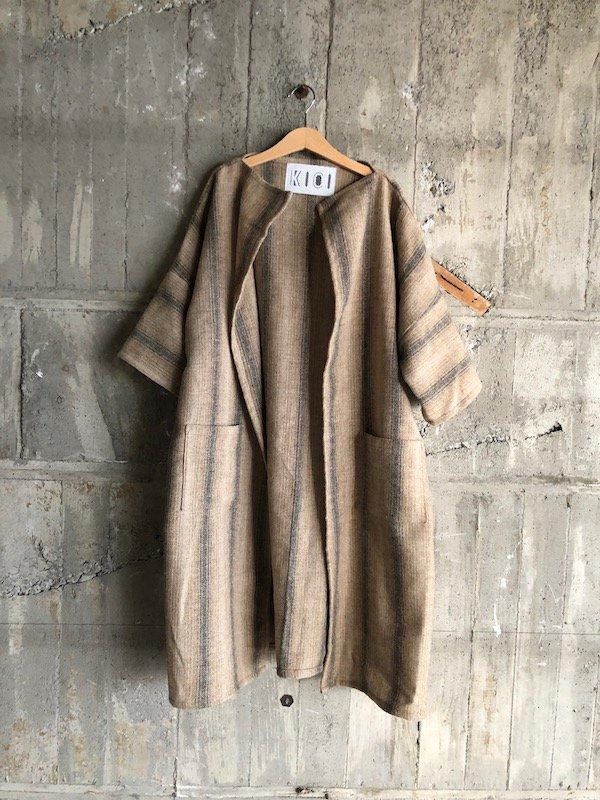 Harf  Sleeve gown   /  ハーフスリーブガウン