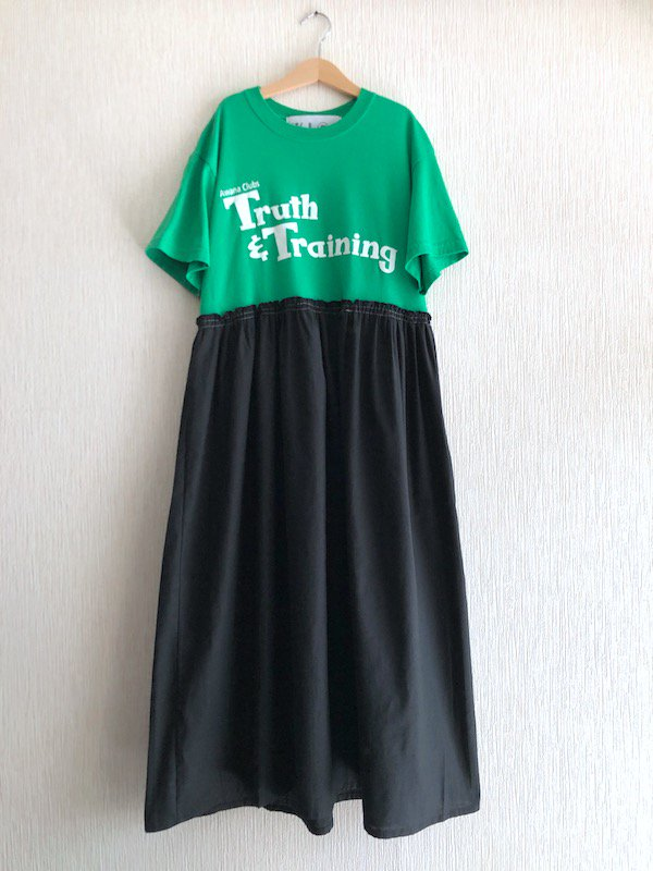 Remake  Loose Dress  / リメイクルーズワンピース (GRN)