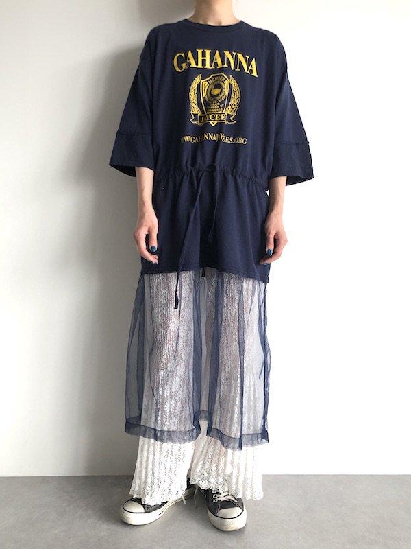 Remake  tulle Dress  / リメイクチュール ワンピース  (NV)
