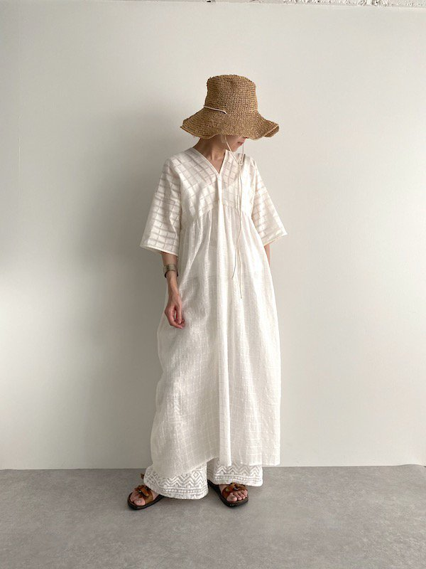 KICI -  Lace dress /  レース ワンピース (block)