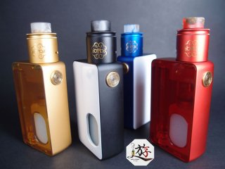 dotMod / dotSquonk Polycarbonate Door Set  【〒】