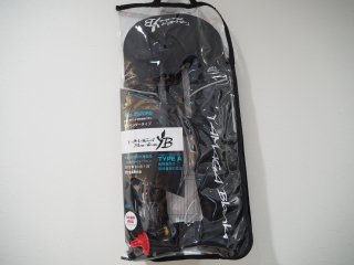 ヤマガブランクス 自動膨張ライフジャケット サスペンダータイプ