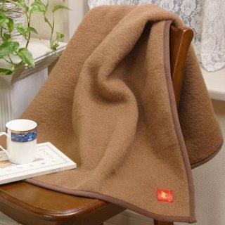 【数量限定半額】キャメルひざ掛毛布