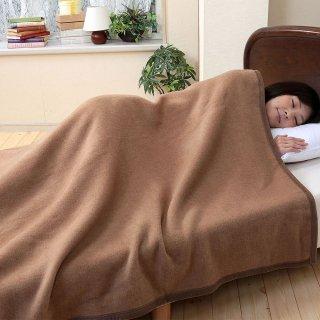 【数量限定半額】キャメル毛布