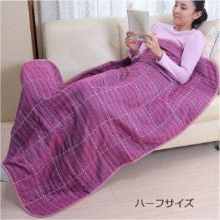三河木綿6重ガーゼケット ピンク ハーフサイズ