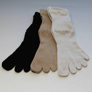5本指靴下 人間を考える足である 婦人用