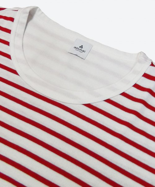 cotton stripe tee ( ashuhari )