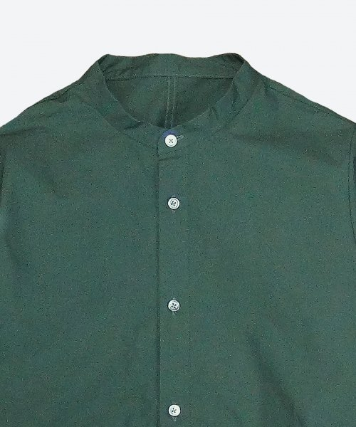 band collar shirt blouson ( ashuhari )