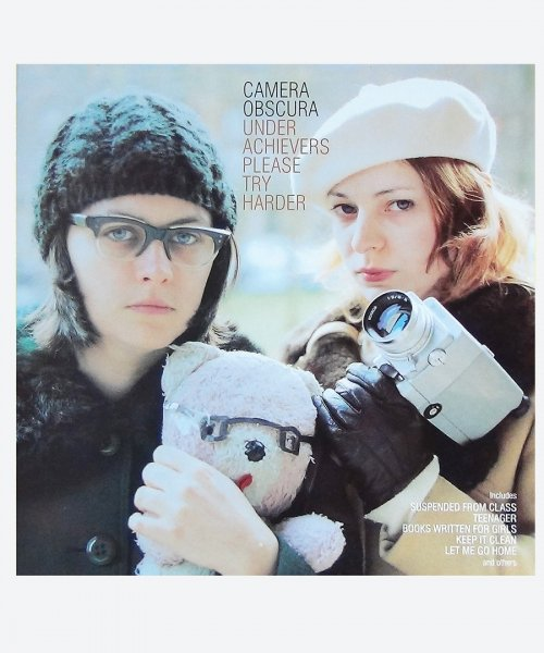CAMERA OBSCURA / UNDER ACHIEVERS PLEASE TRY HARDER (reuse record )
