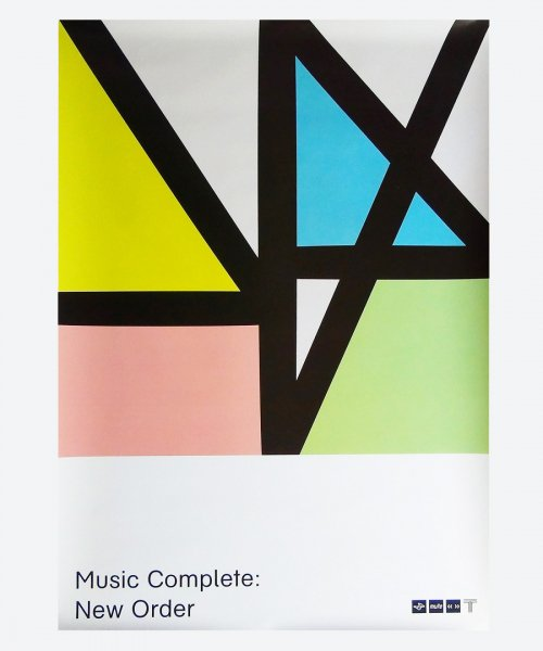 New Order / Music Complete : ( reuse poster )