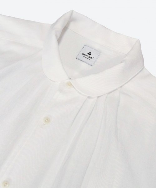 <img class='new_mark_img1' src='https://img.shop-pro.jp/img/new/icons29.gif' style='border:none;display:inline;margin:0px;padding:0px;width:auto;' />round collar tuck shirt ( ashuhari )
