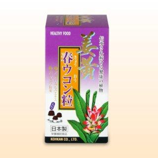姜黄(きょうおう)春ウコン粒(240粒)