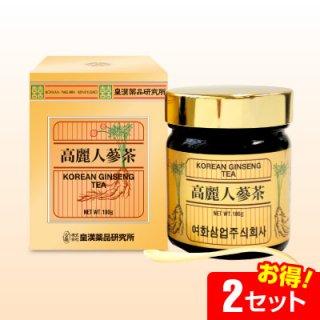 高麗人蔘 六年根エキス 茶(100g)【2セット】