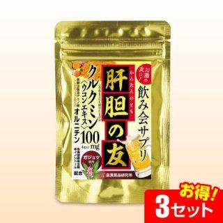 肝胆の友(ガジュツ)(紫ウコン)(120粒)【3セット】