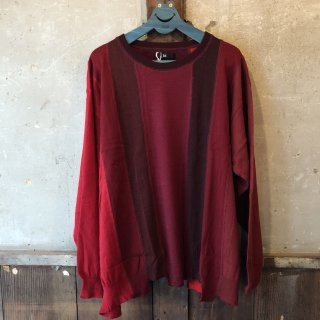 LOOSE KNIT RED