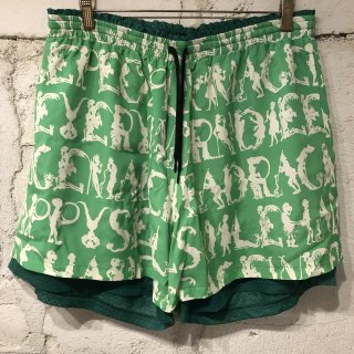 EMOTION SHORTS LIME GREEN
