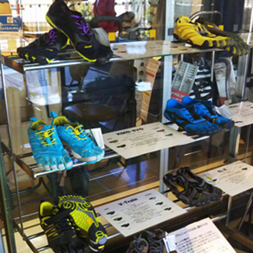 Vibram Five Fingersの種類
