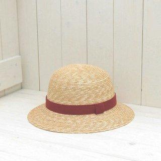 【石田製帽謹製】細麦ストローハット 子どもクロッシェ