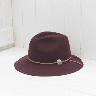 【Andy The Hatter】 ウールフェルト 中折れハット